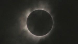 L'éclipse de soleil du 22 juillet 2009.