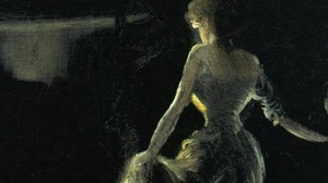 Everett Shinn, Girl on Stage, 1906.