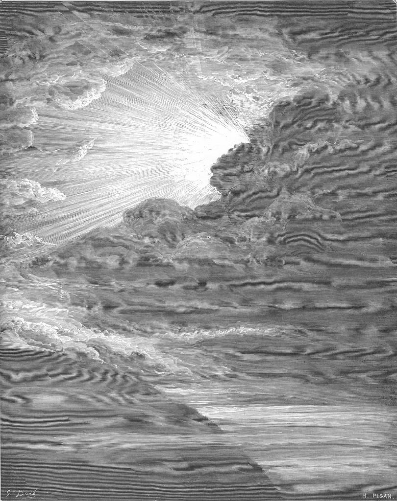 Gustave Doré, La Création de la Lumière, 1866.