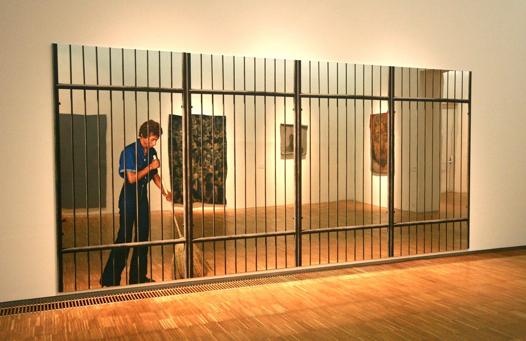 Michelangelo Pistoletto, Cage, 1962-1973.