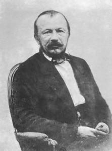 Le «soleil noir de la Mélancolie» : Gérard de Nerval photographié par Nadar vers 1854.