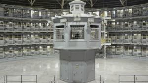 La Prison de Stateville, Illinois, construite en 1917.