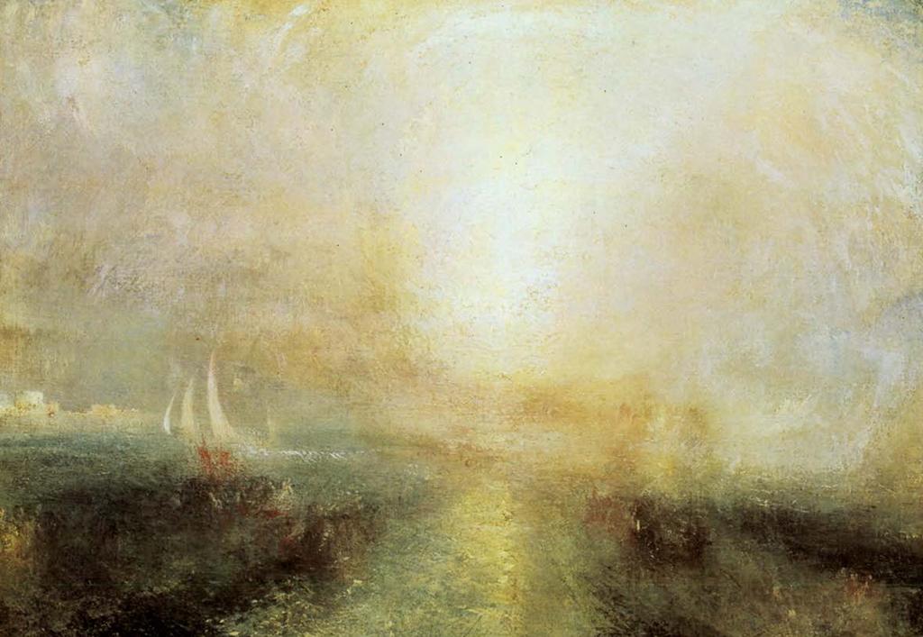 La lumière et les limites du figurable : William Turner, sans titre, sans date (vers 1845).
